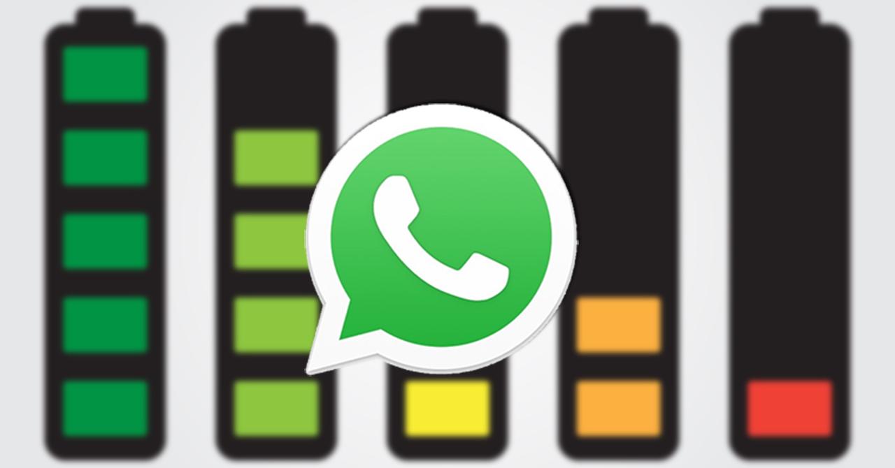 Whatsapp bateria