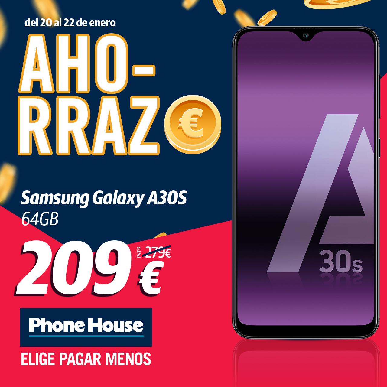 Ahorrazo Samsung Galaxy A30s 1000x1000