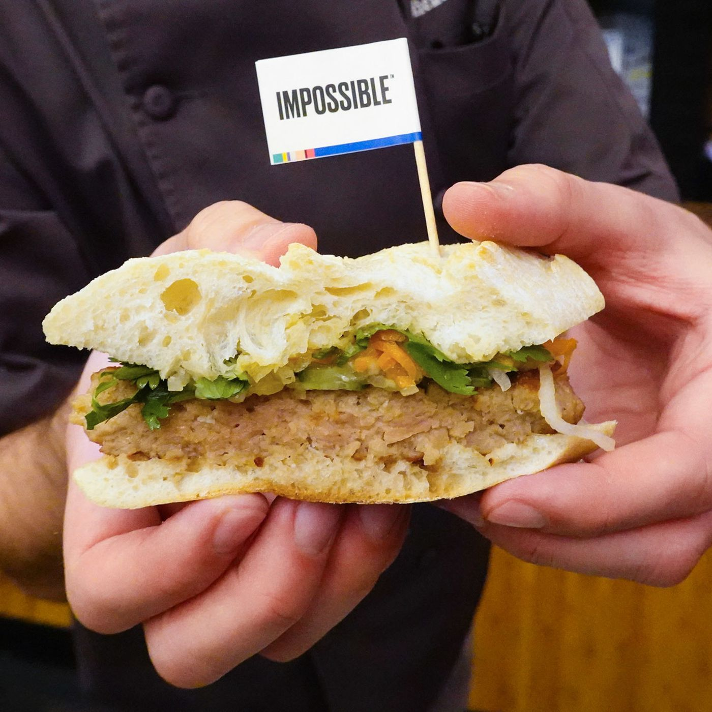 Impossible Pork E Impossible Sausage