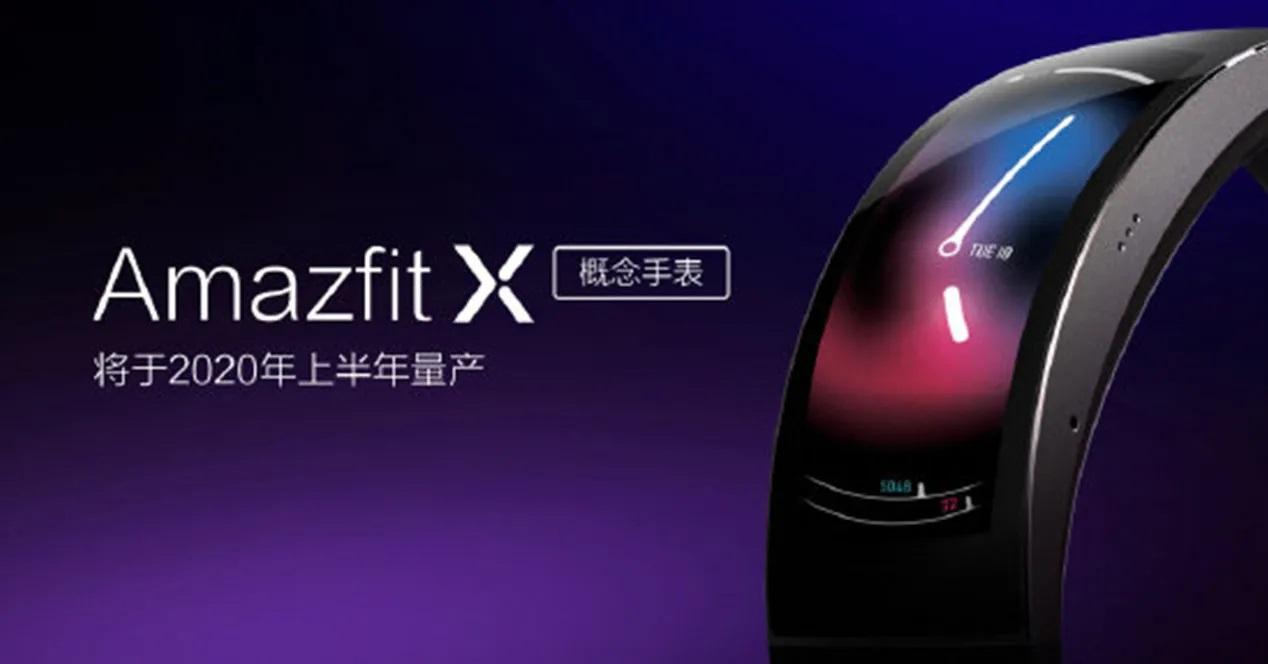 Amazfit X Xiaomi Apertura