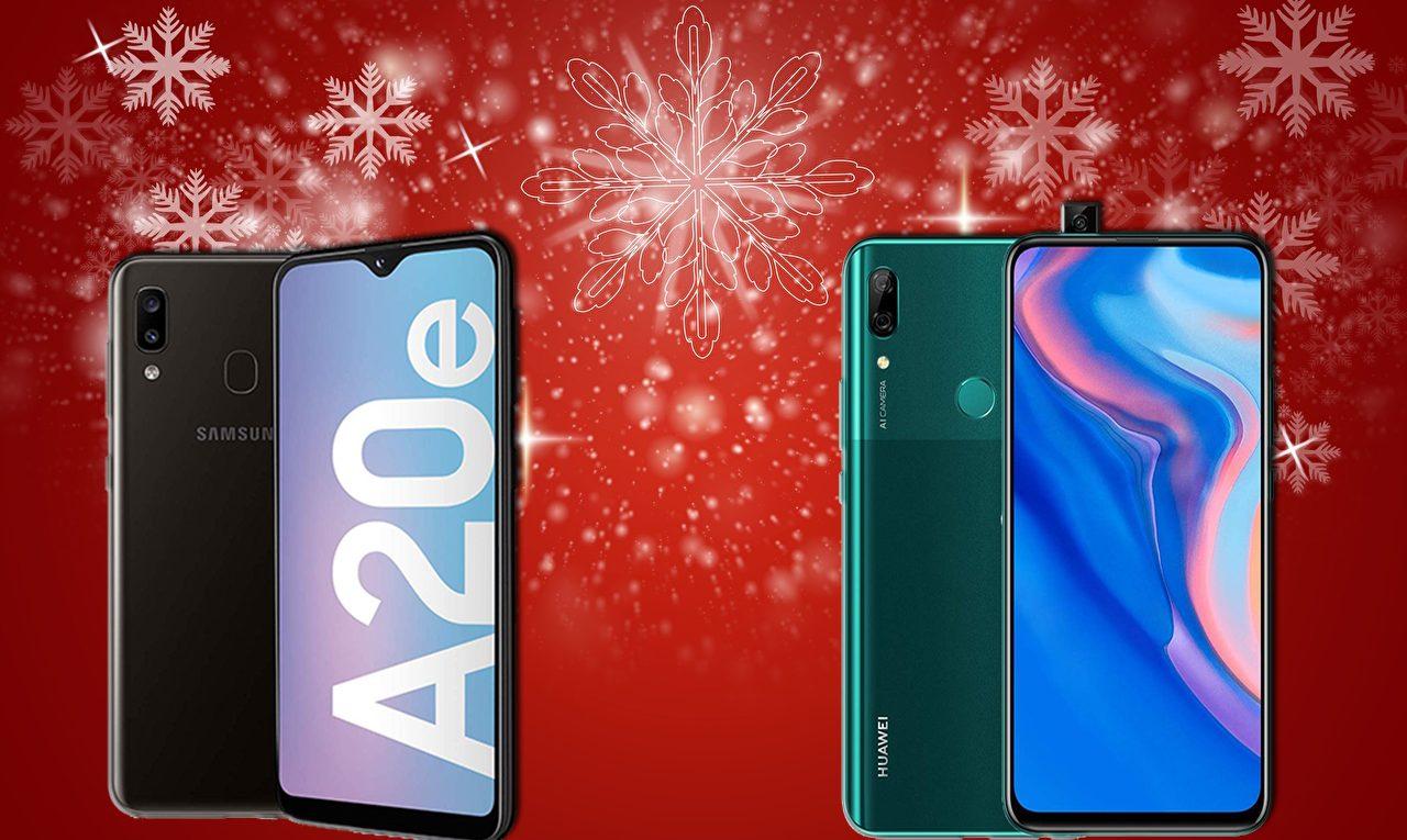 Comparativa Samsung Galaxy A20e vs Huawei P Smart Z
