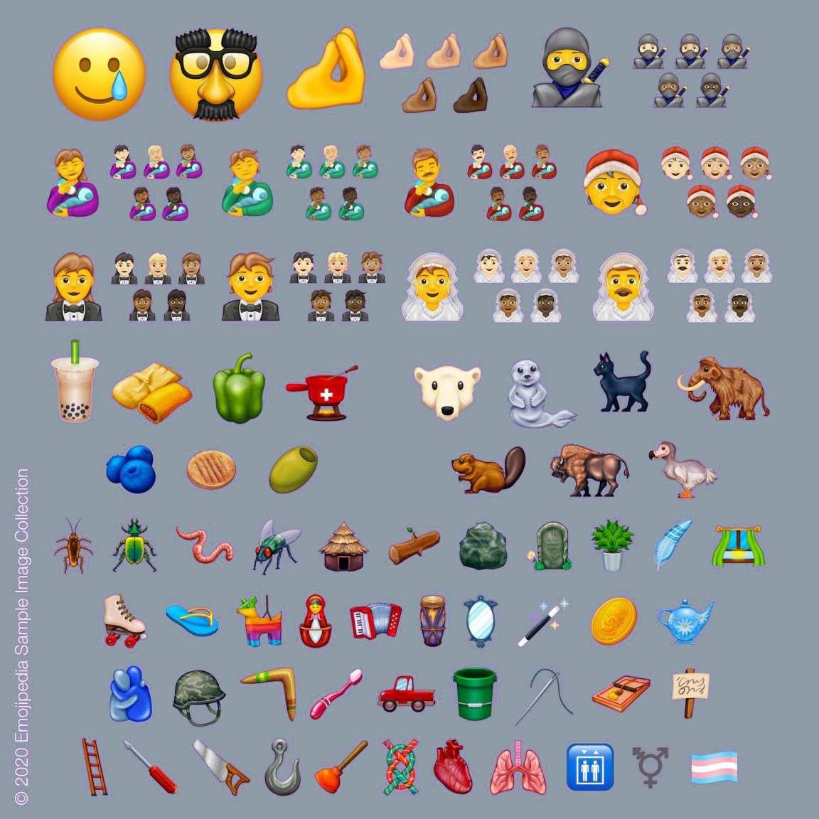 Estos Son Nuevos Emojis Que Llegaran Whatsapp 2020 2020270279