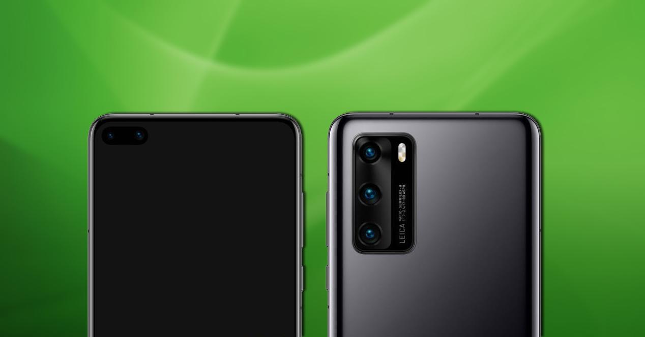 Huawei P40 Apertura