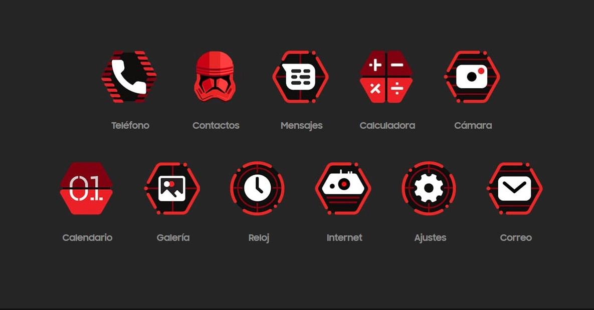 Iconos Star Wars