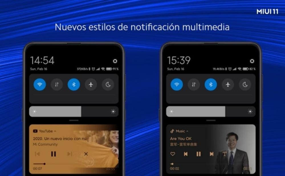 Nuevas Notificaciones Multimedia