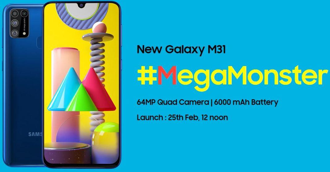 Samsung Galaxy M31 Specs 1