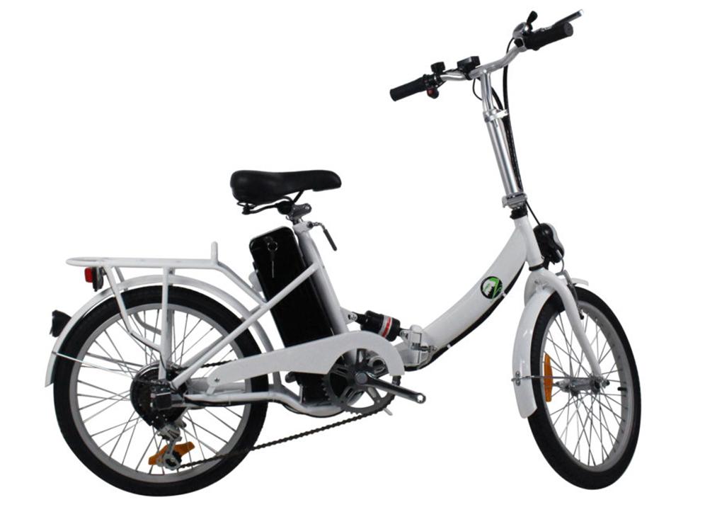 Bicicleta Electrica Smeco Sm Valenty Blanco
