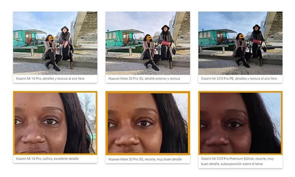 Fotos Mi 10 Pro Dxomark