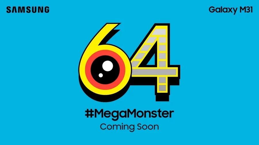 Galaxy M31 64 Megapixel