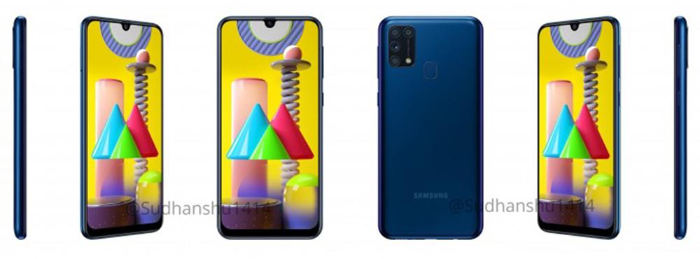 Samsung Galaxy M31 azul