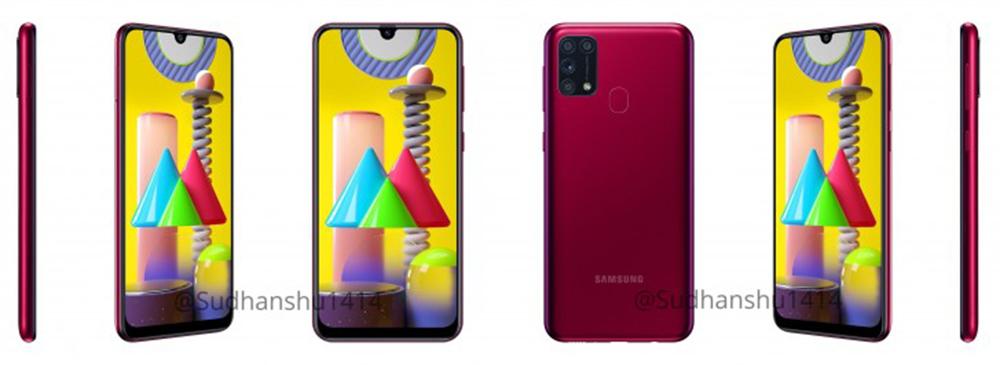 Samsung Galaxy M31 rojo