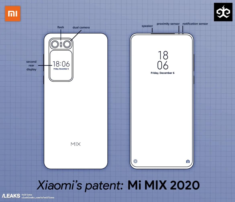 Mi Mix 4 Patente