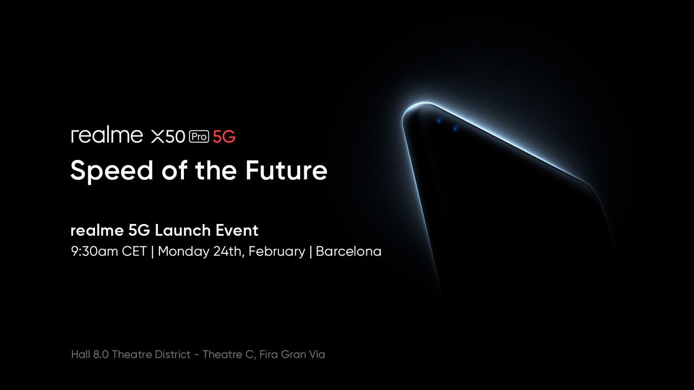 Presentacion Realme X50 Pro 5g