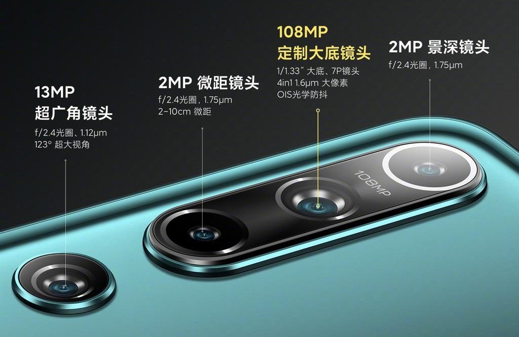 Xiaomi Mi 10 Camaras