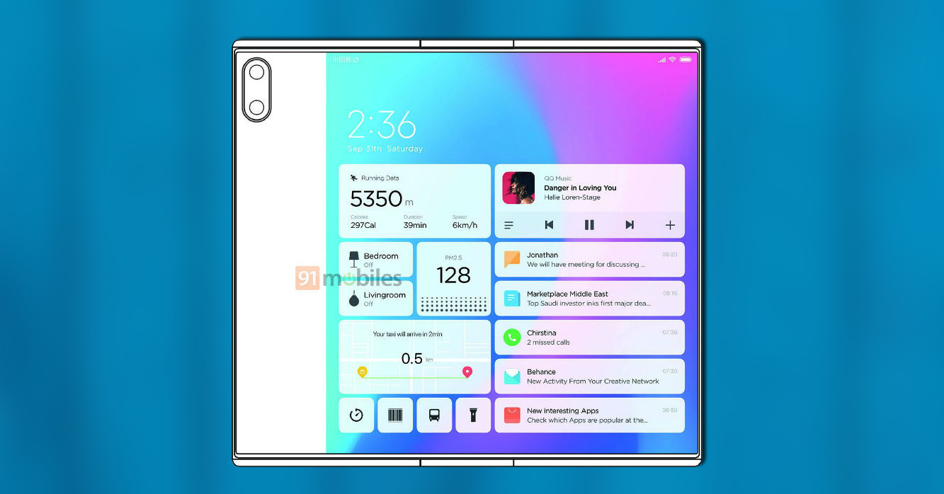 Xiaomi Plegable Apertura
