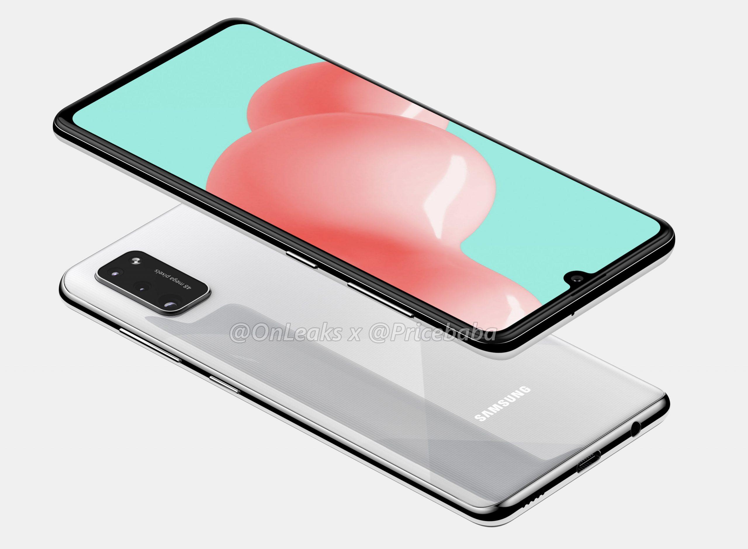 Samsung Galaxy A41 5k Render 2