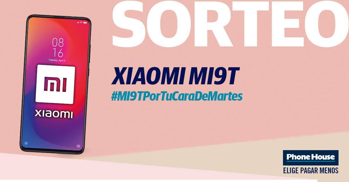 Sorteo Marzo20 03a08 Xiaomimi9t Blog 1200x628