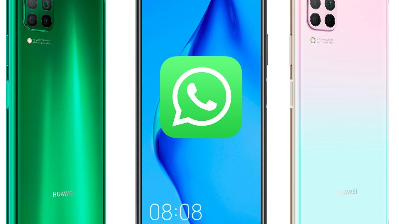 Huawei P40 Lite Whatsapp