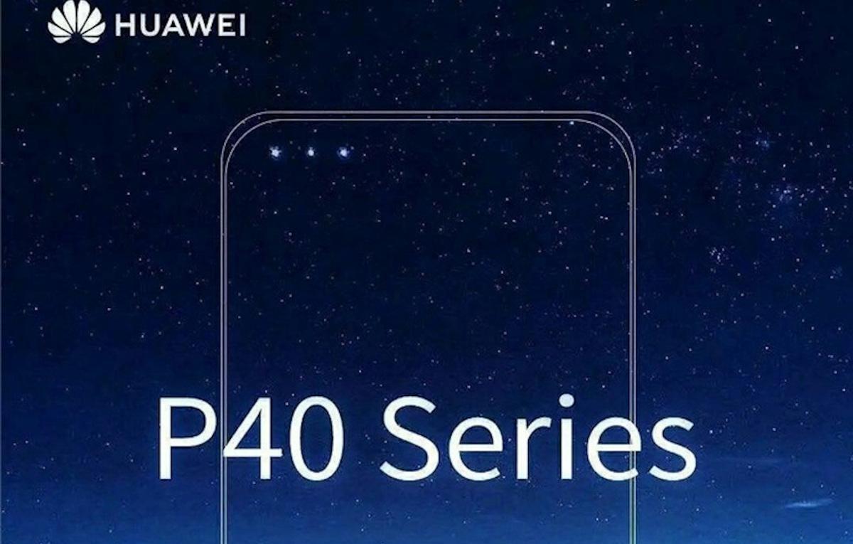 Huawei P40 Triple Camara Frontal