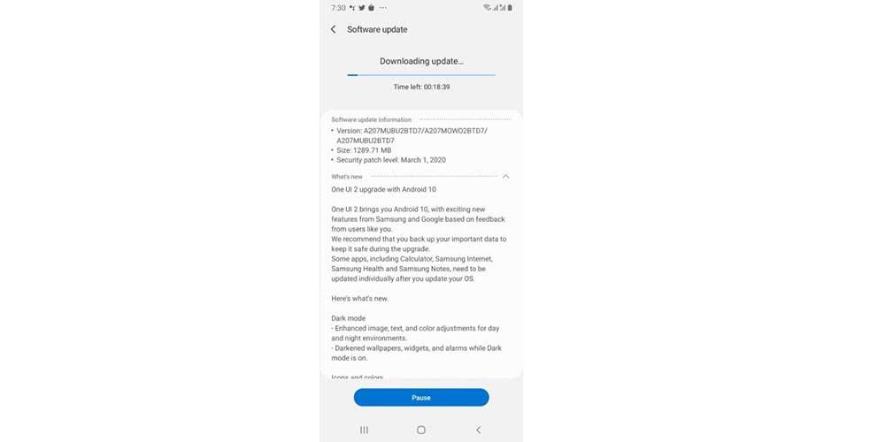 Actualizacion Android 10 Para Samsung Galaxy A20e Y Galaxy A20s