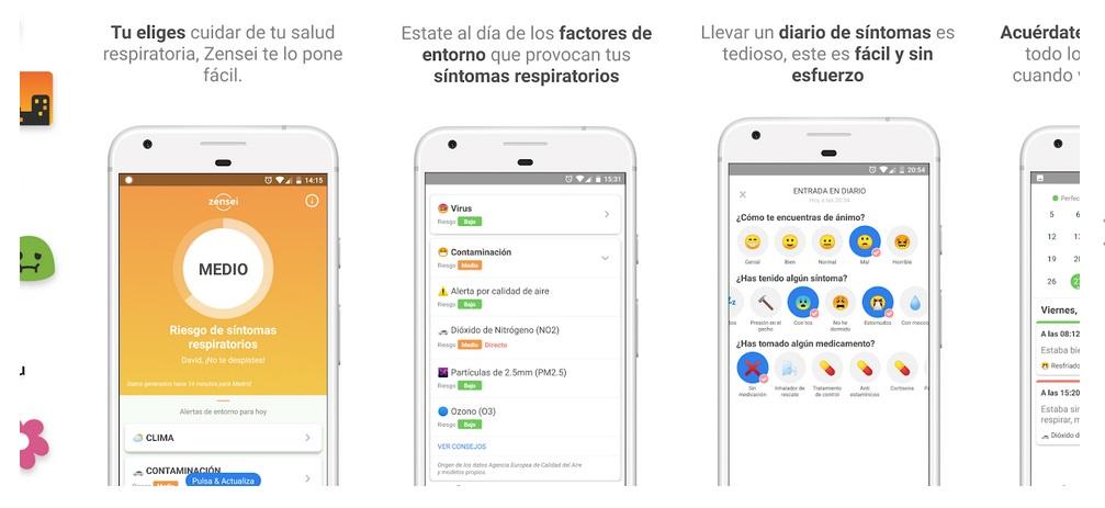 App Diario Salud Respiratoria