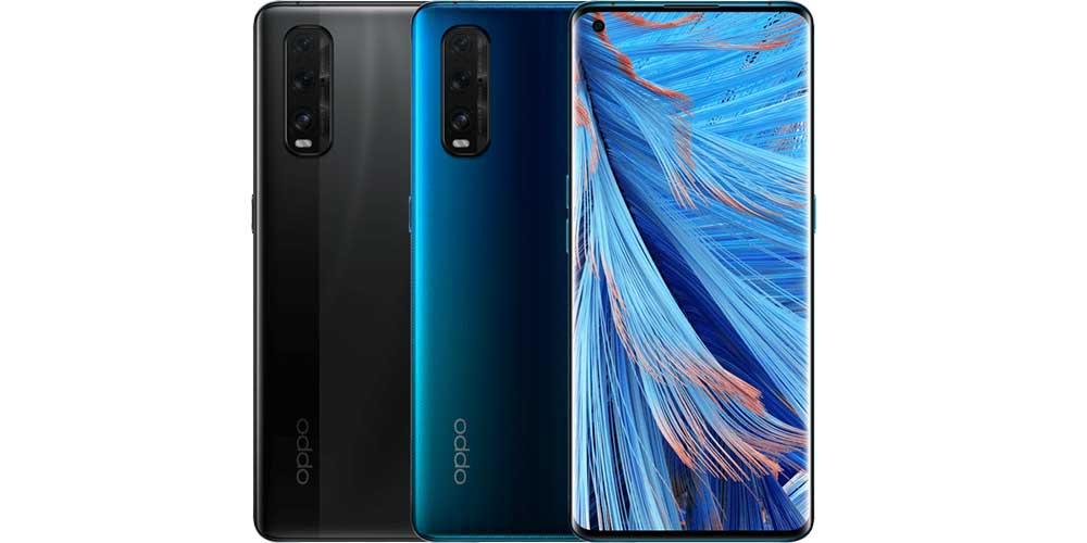 Oppo Find X2 Azul Y Negro