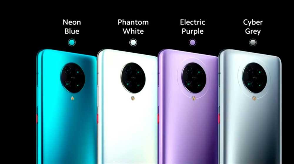 Poco F2 Pro Colores