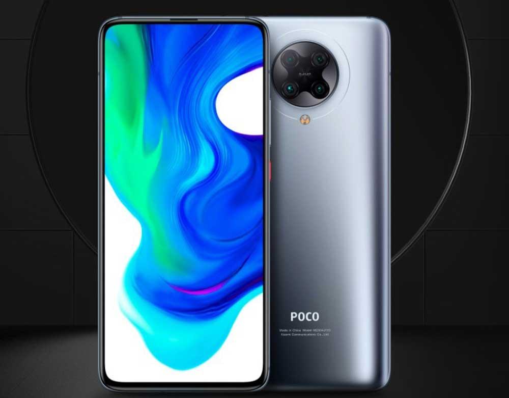 Poco F2 Pro En Color Gris