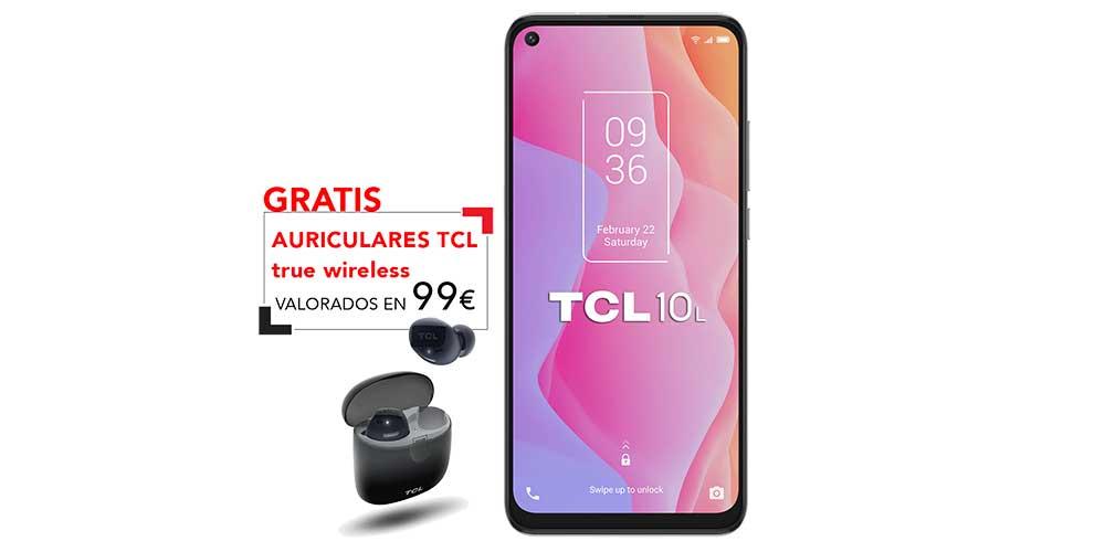 Tcl 10l Y Auriculares De Regalo