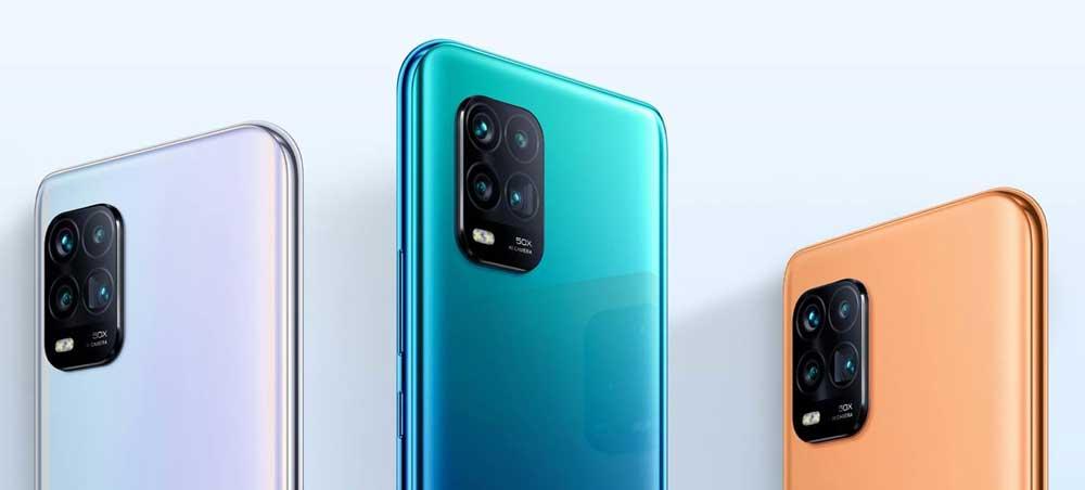 Trasera Del Xiaomi Mi 10 Lite Zoom En Varios Colores