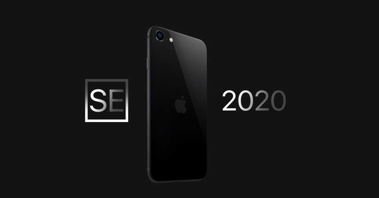 Iphone Se 2020 Fondo Negro