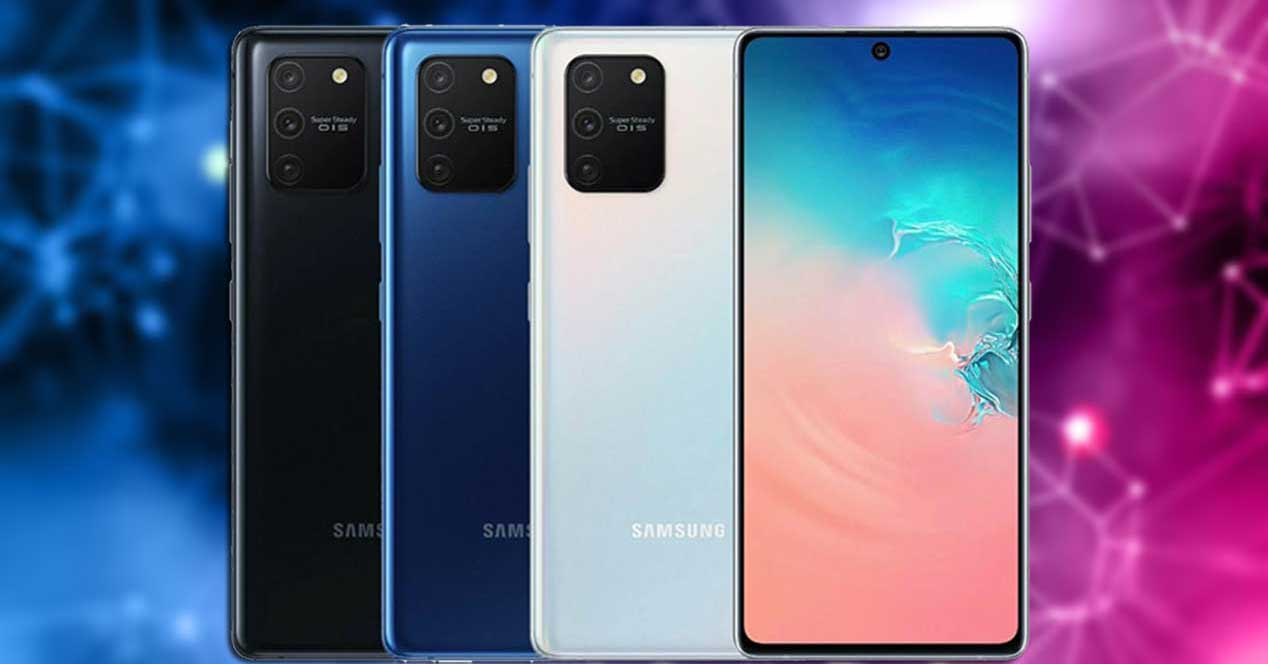Actualización Galaxy S10 Lite