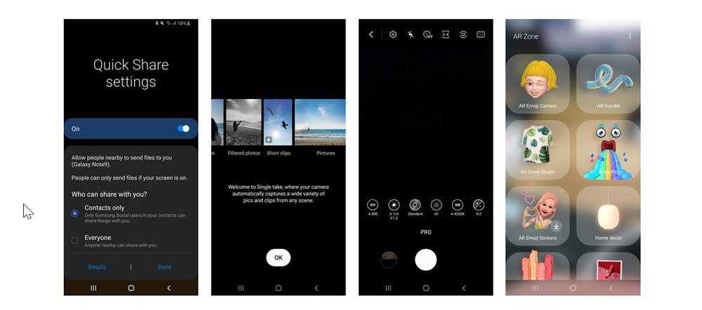 One Ui 2.1 Galaxy Note 9