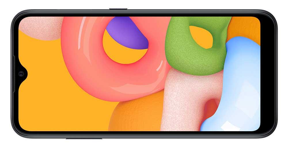Samsung Galaxy M01 Frontal