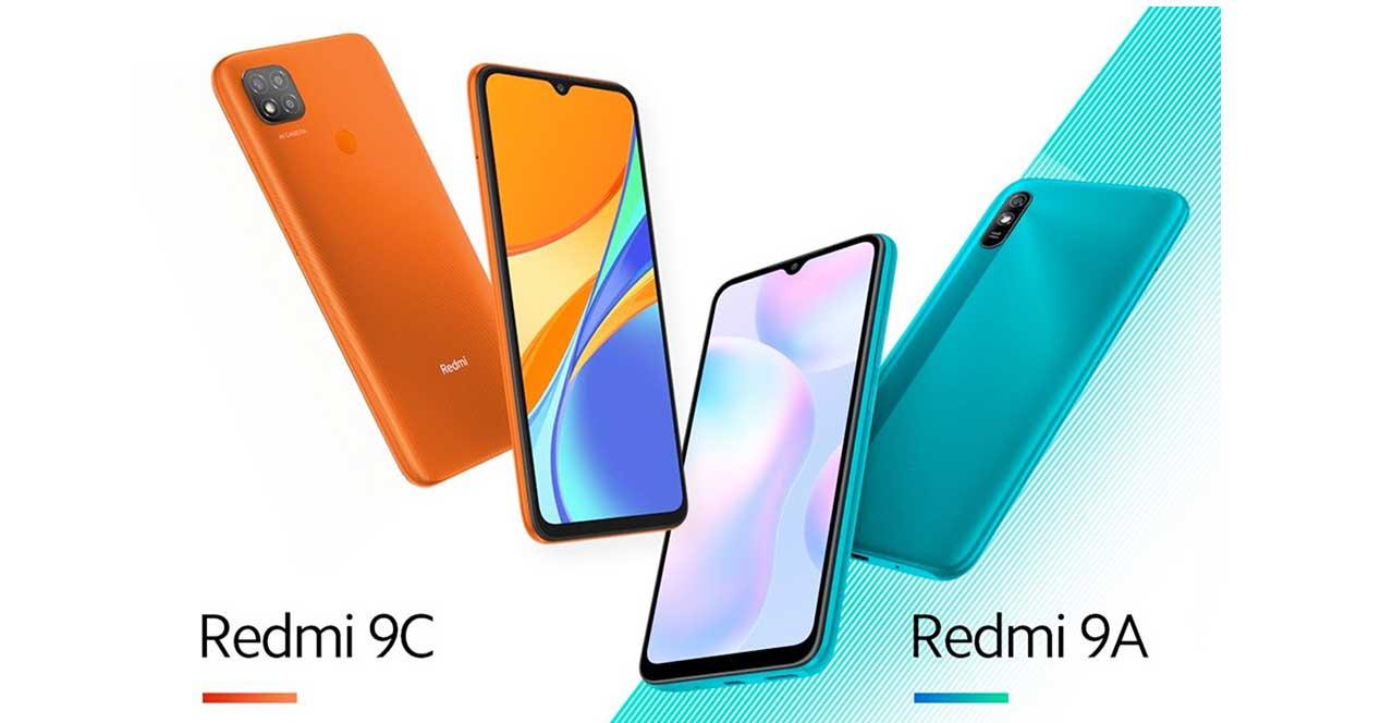 Xiaomi Redmi 9a Y Redmi 9c