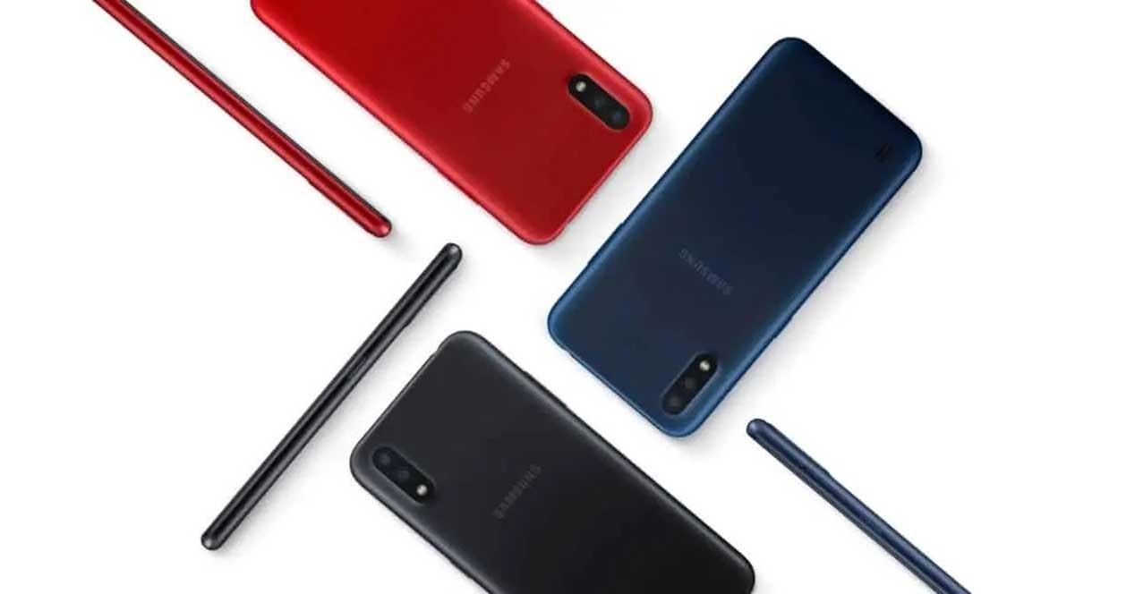 Galaxy M01 Colores
