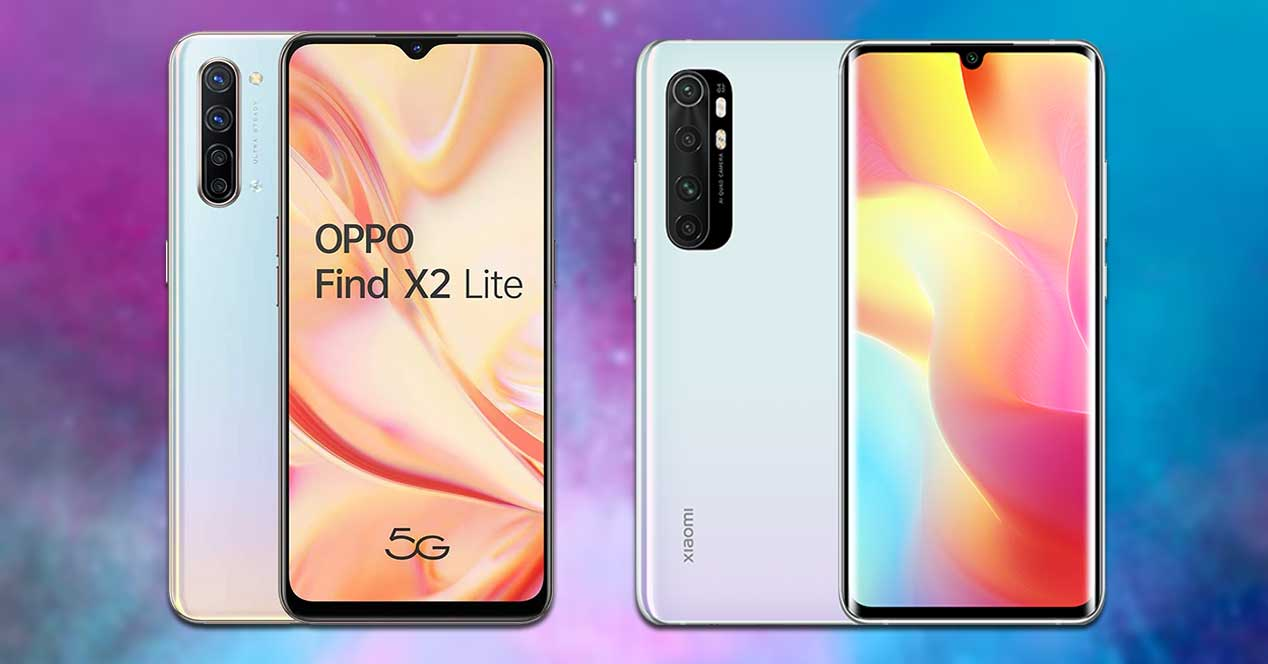 Oppo Find X2 Vs Xiaomi Mi Note 10 Lite