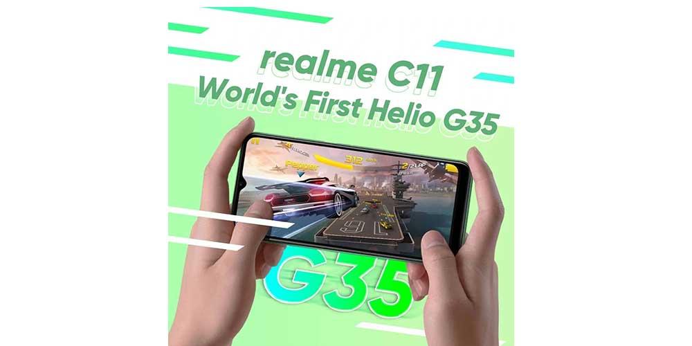 Realme C11 Procesador