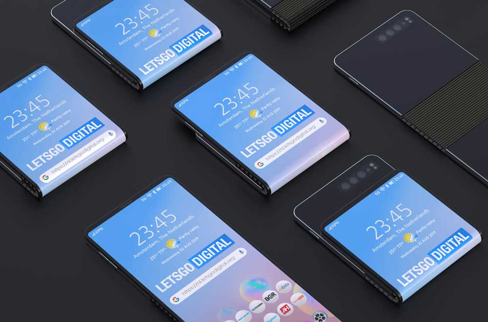 Samsung Galaxy Smartphone Flexibel Display