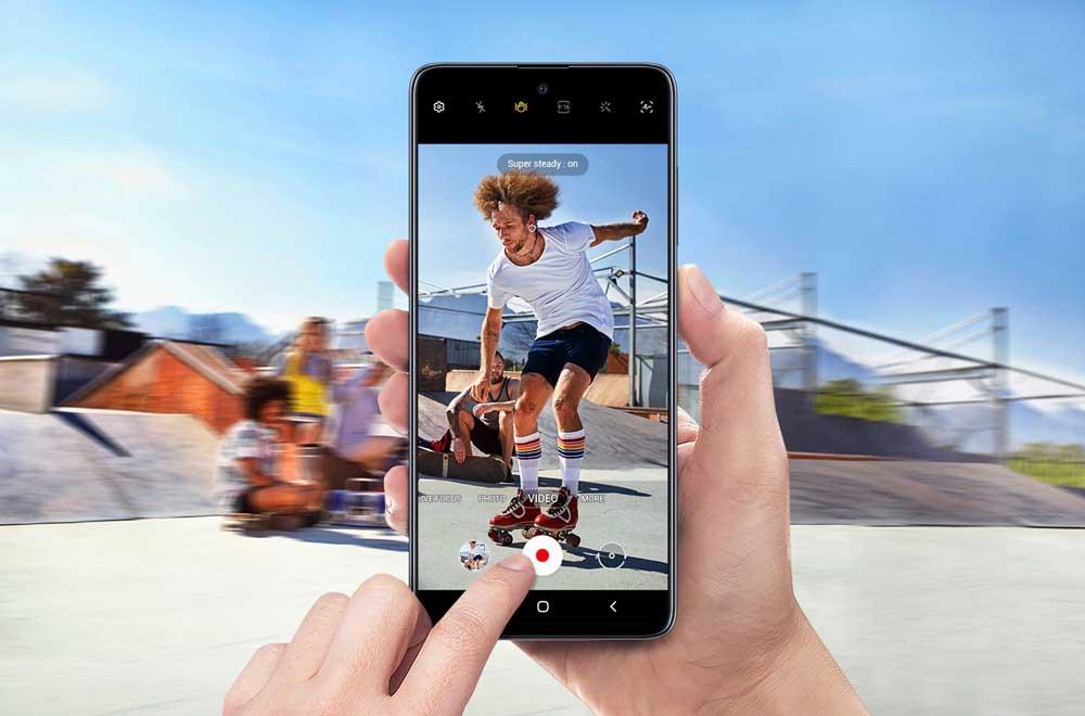 Video Galaxy A51