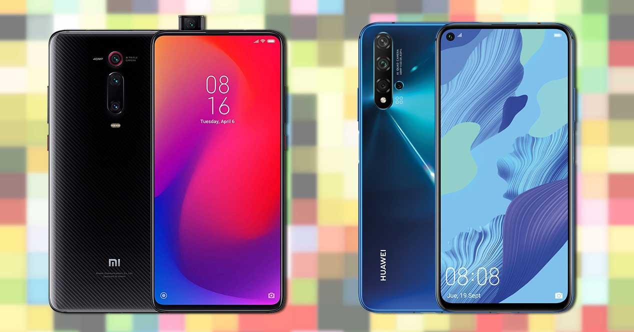Xiaomi Mi 9t Pro O Huawei Nova 5t