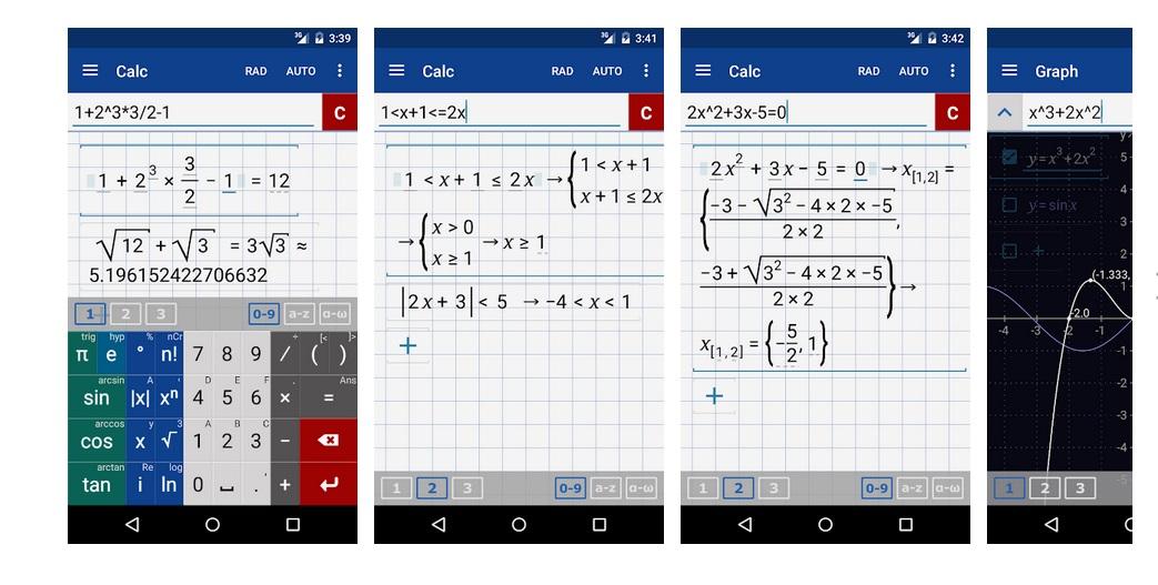 Calculadora Gráfica Math