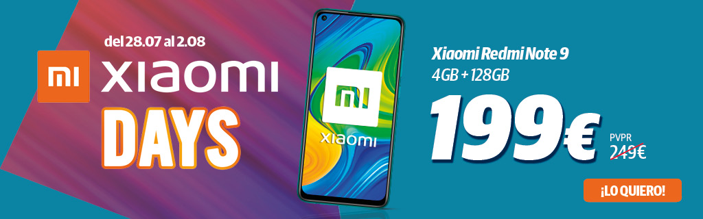 Redmi note 9 Xiaomi Days