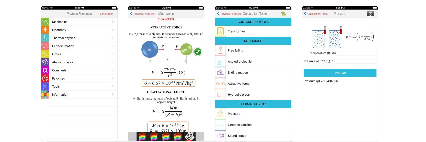 Fórmulas Física Free