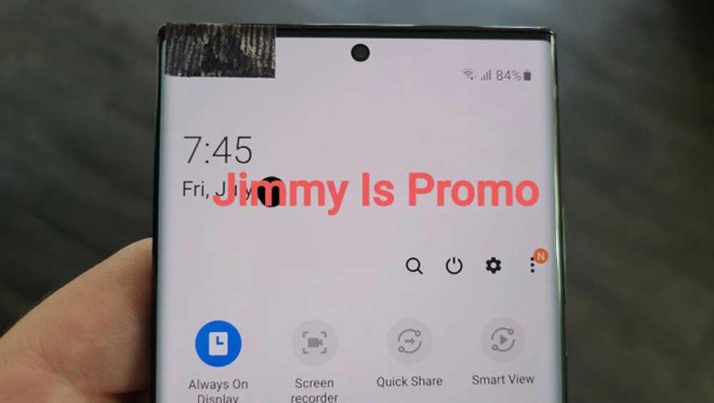 Frontal Del Galaxy Note 20 Ultra