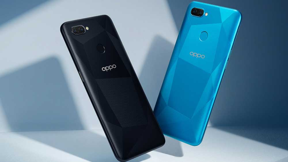 Trasera Oppo A12s