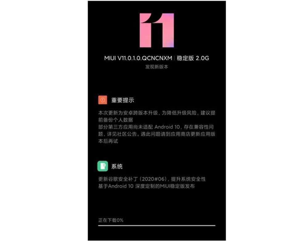 Actualizacion China De Android 10l Xiaomi Redmi 8