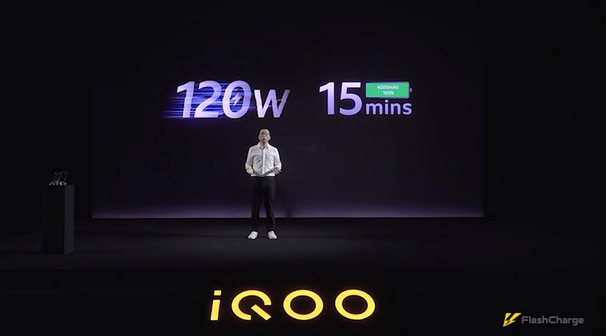 Iqoo 120w Ultra Fast Charging