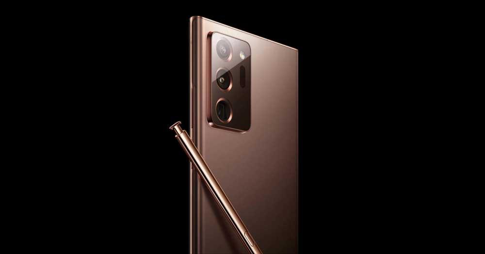 Imagen Oficial Del Samsung Galaxy Note 20 Ultra