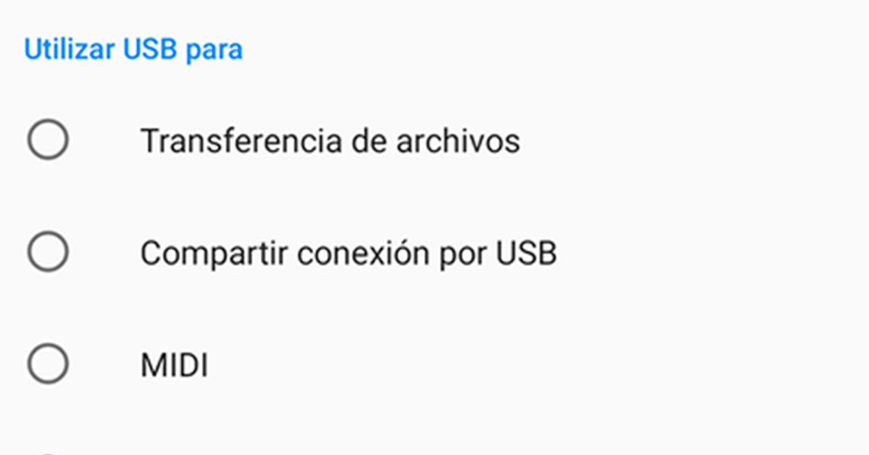 Modos De Conexion Usb De Android1